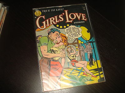 GIRLS' LOVE STORIES #19 Golden Age Young Romance DC Comics 1952 FN-