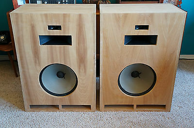 Klipsch Cornwall 2 Speakers Sequential Cabinet Numbers 1976 Decorator Series raw