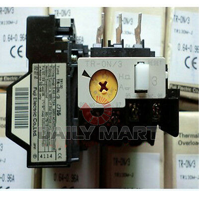 NEW FUJI TR-ON/3 4-6A Thermal Overload Relays