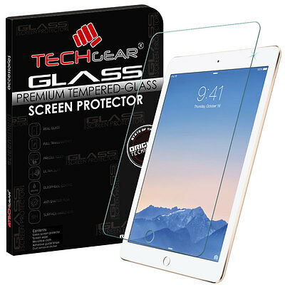 100% TEMPERED GLASS Screen Protector for Apple iPad Air 2 & Apple iPad Air 9.7""