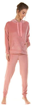 Ladies Brushed Cotton Long Sleeve Pyjamas Button Front Sizes 8 To 26