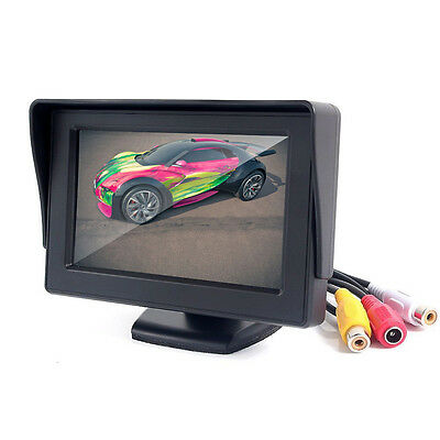 "4.3"" TFT LCD Car Rearview Rear View Monitor Reverse Backup Camera DVD"