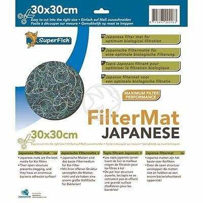 SuperFish Japanese Filter Mat 30x30cm Cut Down To Size Media