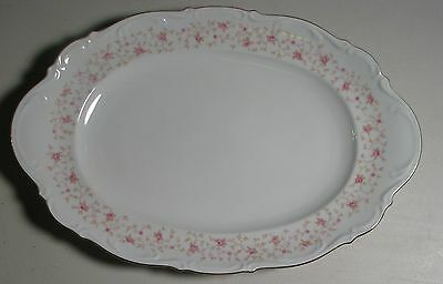 MITTERTEICH BAVARIA LADY CLAIRE FINE CHINA GERMANY LARGE SERVING PLATTER 16""