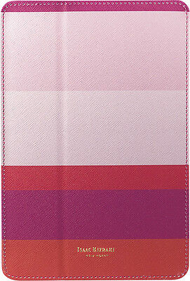 Isaac Mizrahi New York - Folio Hard Case - Pink Stripes