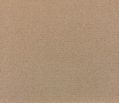 "French Bocage Ecru Velvet Chenille Natural Upholstery Fabric By The Yard 50""w"