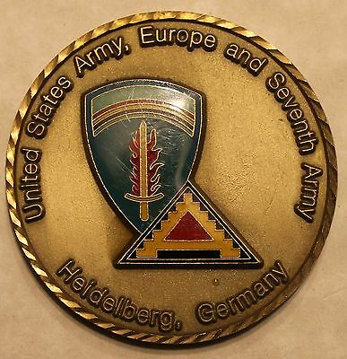 US Army, Europe and Seventh Army, Army Challenge Coin