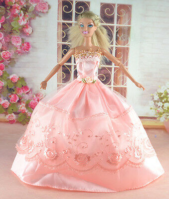 New Handmade Party Clothes Fashion Dress for Noble Doll  #y38