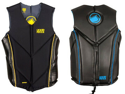 Autumn Sale Liquid Force WATSON Wakeboard Impact Vest, S or M or XL. 48874