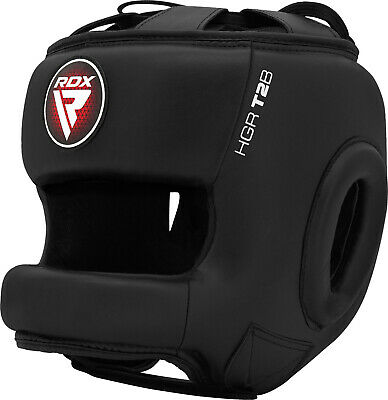 RDX Training Head Guard Helmet Boxing MMA Martial Art Kick Gear Face Protector C