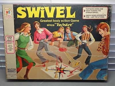 "Vintage Milton Bradley Swivel Game ""1972"" Complete Amazing Condition VG+++"