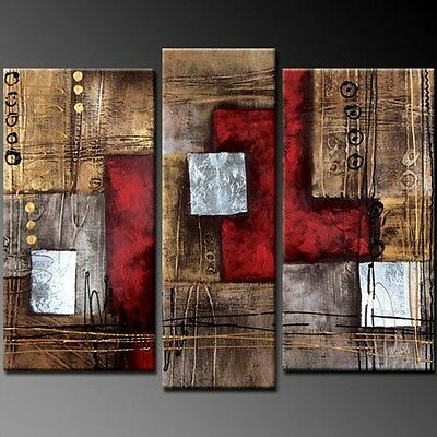 Collectables! HOT SALE! MODERN ABSTRACT HUGE WALL ART OIL PAINTING ON CANVAS