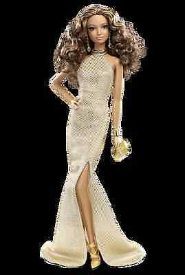 2013 The Barbie LOOK Red Carpet Gold Gown AA NRFB