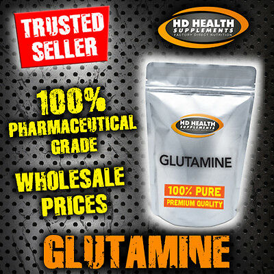 PURE L-GLUTAMINE POWDER MICRONIZED 500g | Premium Quality Amino Acid