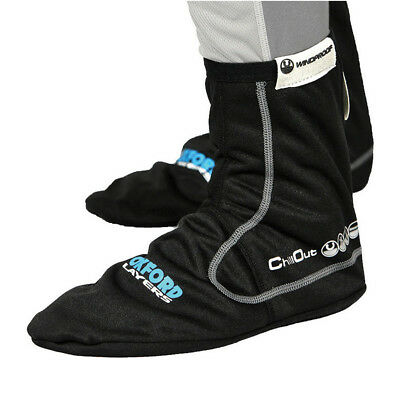 Oxford ChillOut Windproof Socks Water-Resistant Breathable Motorbike GhostBikes