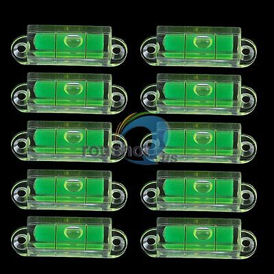 10x Mini Compact Pocket Tapping Hole Bubble Spirit Level Fr Tool Measuring Usage