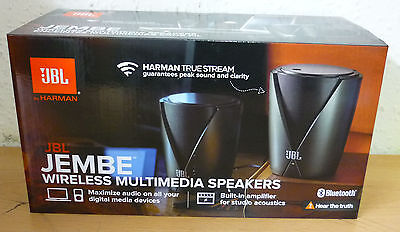 JBL JEMBE WIRELESS BT Bluetooth Speaker System iPod iPad iPhone Mac PC laptop