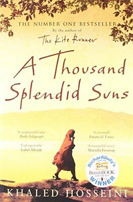 A Thousand Splendid Suns, Hosseini, Khaled Paperback Book The Cheap Fast Free