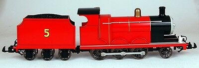 Bachmann G Scale Train (1:22.5) Thomas & Friends James The Red Engine 91403