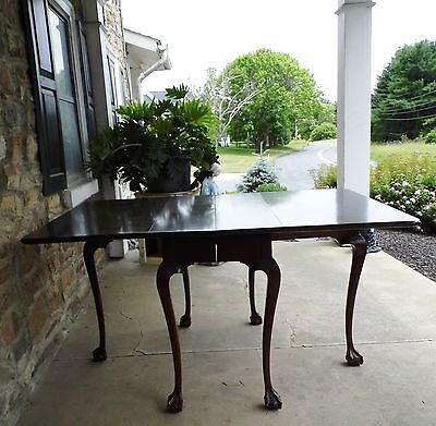 Custom-built, Chippendale style Mahogany Dining Set