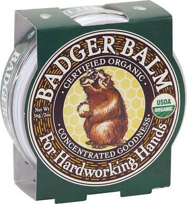 Badger Hardworking Hands Balm 56g. *FREE P&P*