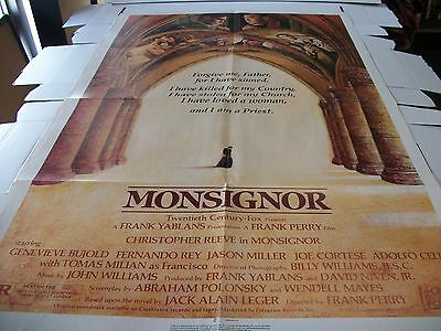 Monsignor -  Poster One Sheet - 27 X 41 - 1982