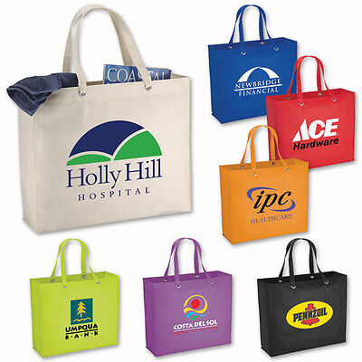 HAVANA POLY-AIR TOTES - 100 quantity - Custom Printed with Your Logo