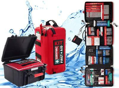 Boaties bundle: Survival workplace first aid kit + waterproof box
