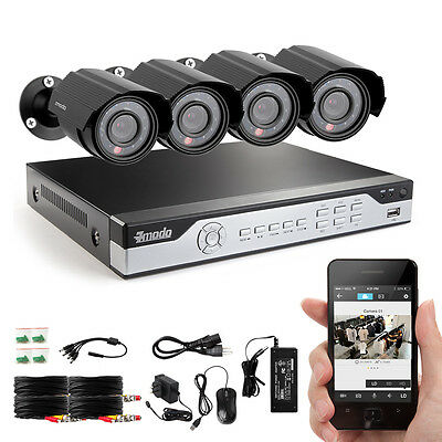 Funlux® 8 Channel 960H DVR Outdoor Home CCTV Surveillance Security Camera System