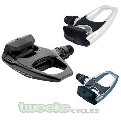 Shimano R540 SPD Clip In Road Bike Pedals With Free Cleats