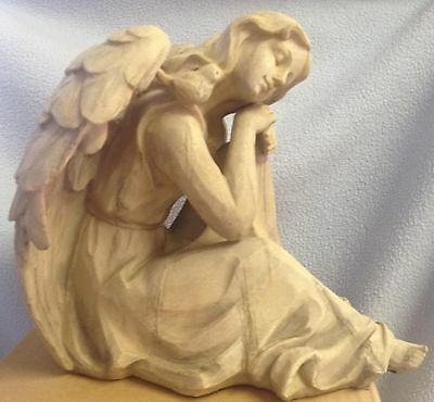 "CELEBRATING HOME INTERIORS NEW $38.00 ""SWEET DREAMS ANGEL"" SLEEPING MINT/BOX"
