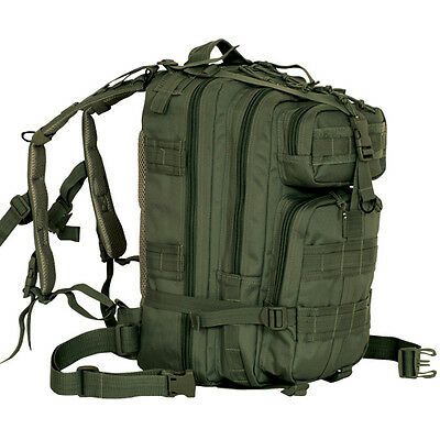 CONDOR MOLLE Modular Nylon Compact Assault Pack Backpack 126 OLIVE DRAB OD GREEN