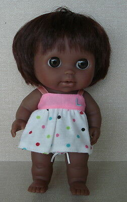 African-American Wide Eyed Berenguer Doll