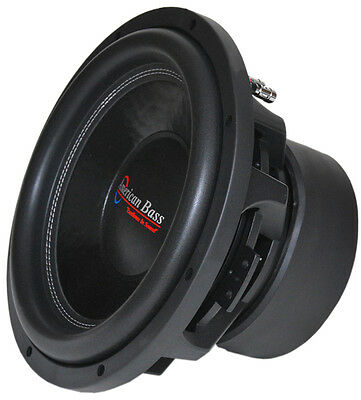 """American Bass XFL1244 12"""" Subwoofer With Dual 4 Ohm Voice Coils; 200 Oz Magnet"""