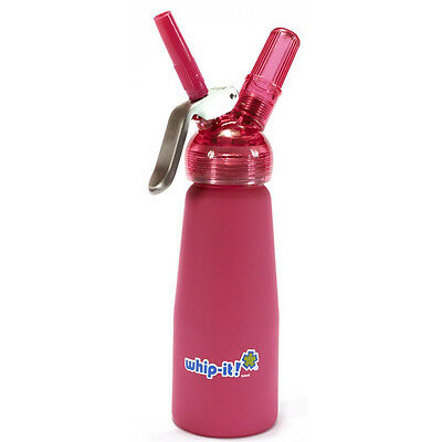 Pink Whip-it! Whipped Cream Nitrous Oxide Dispenser / Whipper / Canister N2O