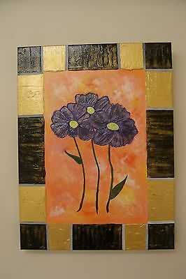 original textured abstract acrylic painting