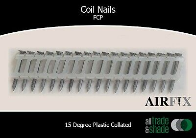 Coil Nails - FCP - Size: 38mm x 2.7mm - Box: 6,000
