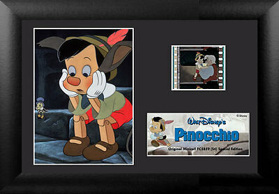 Film Cell Genuine 35mm Framed & Matted Disney Pinocchio Special Edition 5859