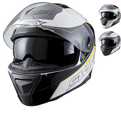 Protective Clothing Motorbikes, Accessories & Parts Shox Assault Evo Motorcycle Helmet