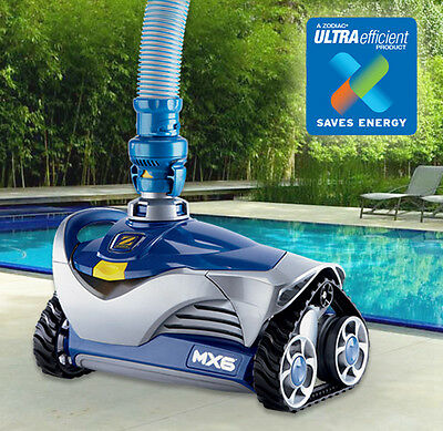 Zodiac MX6 Baracuda Pool Cleaner with X-Drive Navigation - Above & In Ground - W