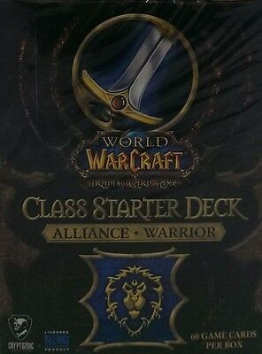WoW Class Starter Alliance Warrior englisch Neu & OVP