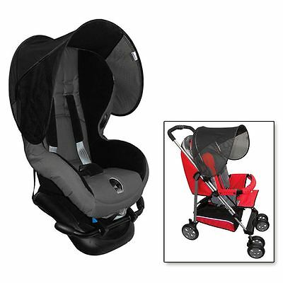 UV Sun Block Hood Visor Protection Baby Car Seat Shade Stroller Buggy Pushchair