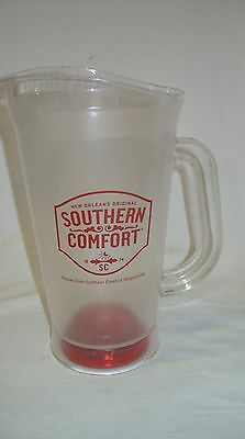"""Southern Comfort Whiskey - Promotional 10"""" Illuminated Plastic Drink Pitcher"""