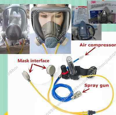 complete set of Circulating air supply  (use 3M 6800 or SJL full mask)
