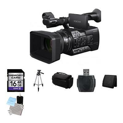 Sony PXW-X160 Full HD XDCAM Handheld Camcorder 16GB Package