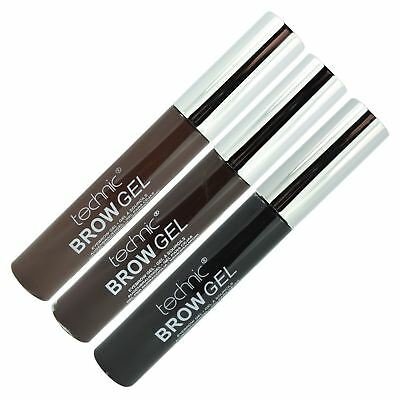 Technic Eyebrow Gel Light Medium Dark Brown All Shades Brow Mascara