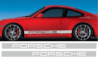 Kit Bandes Decoratives  Bas De Caisse Porsche 996/997