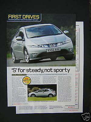 Honda Civic Type S 1.8i VTEC First Drive Road Test from 2006 - Original