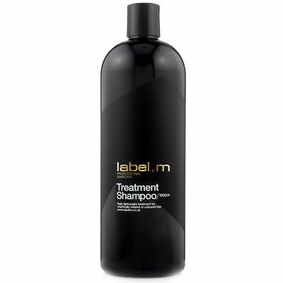 label.m Treatment Shampoo  1000ml   For Men And Women