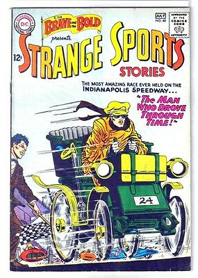 BRAVE and the BOLD #48 Strange Sports Stories! DC Comic Book ~ VG/FN